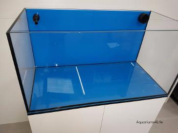 Aquariums4Life High Gloss Steel Frame Aquarium Cabinet marine