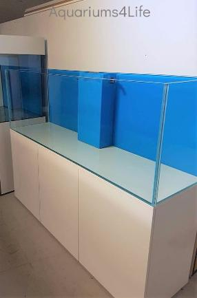 Aquariums4Life Marine Braceless Aquairum Steel Framed Cabinet