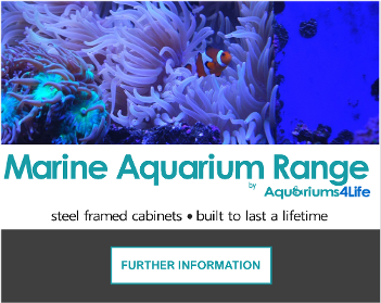 Marine Reef aquariums and steel framed cabinets best quality