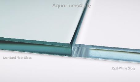 Aquariums4Life Opti White Clear Glass Low Iron Aquariums